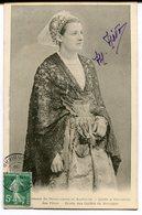 CPA - Carte Postale - Folklore - Femme De Douarnenez - Coiffe Et Cornettes Des Fêtes - 1908 (M8035) - Costumes