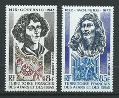 AFARS Et ISSAS 1973 . Poste Aérienne N°s 87 Et 88 . Neufs ** (MNH) - Neufs