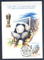 Monaco 2004 Maximum Card: Football Fussball Soccer Calcio; FIFA World Cup 1930 Uruguay Coupe Du Monde; Weltmeisterschaft - Fußball-Weltmeisterschaft