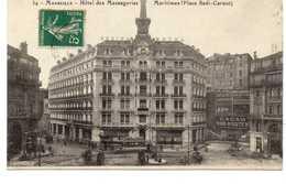 - CPA MARSEILLE (13) - Hôtel Des Messageries Maritimes (Place Sadi-Carnot) - Edition Nouvelles Galeries N° 34 - - Monuments