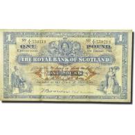 Billet, Scotland, 1 Pound, 1944, 1944-01-06, KM:322b, TTB - Ecosse