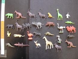 Lot ANIMAUX SAUVAGES Jungle MAUVAIS ETAT Prix En Consequence INTERESSANT ? - Figurines
