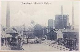 Flémalle-Grande Houillère De Marihaye - Train Locomotive (Charbonnage) (Reproduction - Photo) - Flémalle