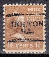 USA Precancel Vorausentwertung Preo, Locals Illinois, Dolton 701 - Vereinigte Staaten