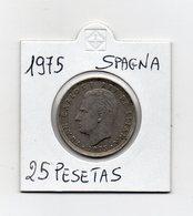 Spagna - 1975 - 25 Pesetas - (MW2132) - [ 5] 1949-… : Regno