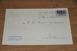 69-   BEDRIJFSKAART, FIRMA AMBOUW - AMERSFOORT - 1952 - Kaarten
