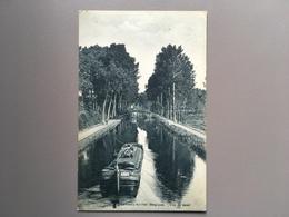 LEMBEEK - LEMBECQ - Le Canal - Péniche - Scheepvaart - Bâteau - Halle