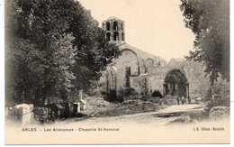 - CPA ARLES (13) - Les Aliscamps - Chapelle St-Honorat - Editions J.-B. - - Arles