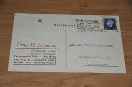 76-   BEDRIJFSKAART, FIRMA H. LOOMANS - DEN HAAG - 1949 - Andere