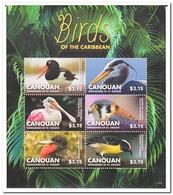 Canouan 2015, Postfris MNH, Birds - St.-Vincent En De Grenadines