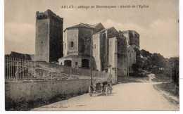 - CPA ARLES (13) - Abbaye De Montmajous (Montmajour) - Abside De L'Eglise - - Arles