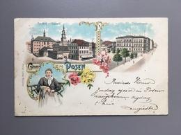 POZNAN - POSEN - Gruss Aus - Litho - 1902 - Polen