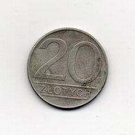 Polonia - 1987 - 20 Zlotych - Vedi Foto - (MW2136) - Polonia