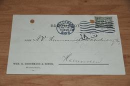 81-   BEDRIJFSKAART, WED. G. DOOREMANS & ZONEN - ROTTERDAM - 1915 - Kaarten