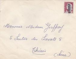 """Envelloppe CURSIVE """" THIAIS """" - Marcophilie (Lettres)"""