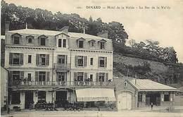 -dpts Div.-ref-AH354- Ille Et Vilaine - Dinard - Hotel De La Vallée - Le Bec De La Vallée - Hotels - Carte Bon Etat - - Dinard