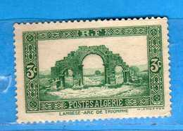 (Us3) ALGERIA - ALGERIE *- 1936-37 - Yvert. N° 103. Neuf. Sans Gomme .  Vedi Descrizione - Algeria (1924-1962)