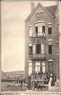 Oostduinkerke (Bains) Villa Du Personnel Enseignant Socialiste (animée, 1928, Peu Vue) - Oostduinkerke