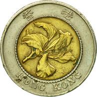 Monnaie, Hong Kong, Elizabeth II, 10 Dollars, 1995, TTB, Bi-Metallic, KM:70 - Hong Kong