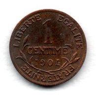 Dupuis  -  1 Centime 1904  -  état  TTB - France