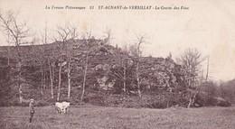 23 / ST AGNANT DE VERSILLAT / LA GROTTE DES FEES - Other Municipalities