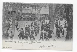 1 CPA Animée 1902 Luxembourg Place D'Armes Et Kiosque Série 10 N°12 - Luxembourg - Ville