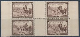 SARRE 1951 Journée Du Timbre Bloc De 4 Du  N° YT 291 ** MNH - 1947-56 Occupation Alliée