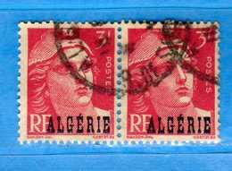 (Us3) ALGERIA - ALGERIE °- 1945-47 - Yvert. N° 238. Oblitéré .  Vedi Descrizione - Algeria (1924-1962)