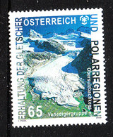 Austria  - 2009. Ghiacciai Polari. Polar Glaciers. MNH - Preservare Le Regioni Polari E Ghiacciai