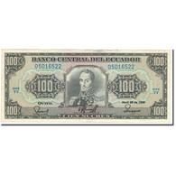 Billet, Équateur, 100 Sucres, 1990-04-20, KM:123, SUP - Equateur