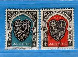 (Us3) ALGERIA - ALGERIE °- 1948 - Yvert. N° 268-271. Oblitéré .  Vedi Descrizione - Algeria (1924-1962)
