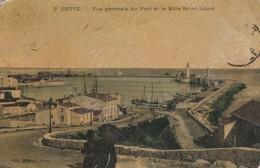 Hérault : SETE - CETTE : Vue Générale Du Port Et Le Mole Saint-louis - Sete (Cette)