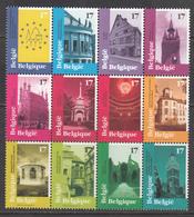 Belgium MNH Michel Nr 2815/26 From 1998 / Catw 9.50 EUR - Belgique
