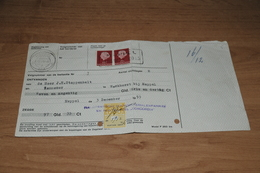 83-   REKENING VAN DRENTSE BOUWM.FABRIEK EN HOUTHANDEL CONCORDIA - MEPPEL - 1953 - Netherlands