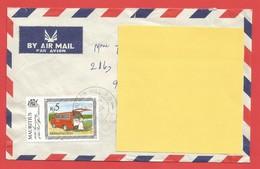 Enveloppe Timbrée ILE MAURICE  ( Mauritus Rs 5 ) Port Louis Voir Photo - Maurice (1968-...)