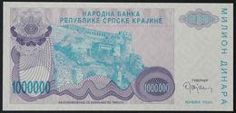 CROATIA - 1.00.000 Dinara 1994 {Knin} UNC P. R33 - Croatia