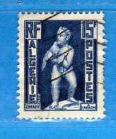 (Us3) ALGERIA - ALGERIE °- 1952 - Yvert. N° 290. Oblitéré .  Vedi Descrizione - Algeria (1924-1962)