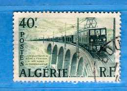 (Us3) ALGERIA - ALGERIE °- 1956-58 - Yvert. N° 340. Oblitéré .  Vedi Descrizione - Algeria (1924-1962)