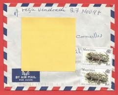 Enveloppe Timbrée ILE MAURICE  ( Mauritus Rs 6 X2 ) Port Louis Voir Photo - Maurice (1968-...)