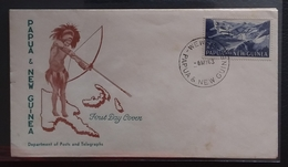 Papua New Guinea 1963 Definitives FDC (WEWAK Cancellation) - Papouasie-Nouvelle-Guinée