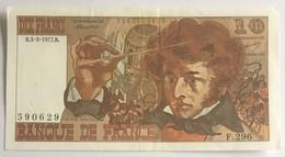 DIX FRANCS - BANQUE DE FRANCE - 1977 - 10 F 1972-1978 ''Berlioz''