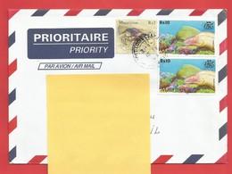 Enveloppe Timbrée ILE MAURICE  ( Mauritus Rs 10 X2 Et Rs 2 ) Port Louis Voir Photo - Maurice (1968-...)
