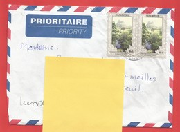 Enveloppe Timbrée ILE MAURICE  ( Mauritus Rs 6 X 2 ) Port Louis Voir Photo - Maurice (1968-...)