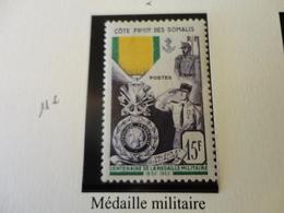 TIMBRE COLONIE FRANCAISE COTE DES SOMALIS N°284 NEUF  CHARNIERE - Côte Française Des Somalis (1894-1967)