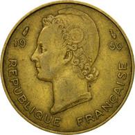 Monnaie, French West Africa, 10 Francs, 1956, Paris, TTB, Aluminum-Bronze, KM:6 - Côte-d'Ivoire