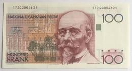 NATIONALE BANK VAN BELGIË - HONDERD FRANK - 100 Francs