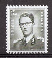 BELGIE Boudewijn Bril * Nr 924a * Postfris Xx * WIT PAPIER - 1953-1972 Lunettes