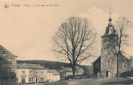 CPA - Belgique - Crupey - L'Eglise - La Tour - Assesse