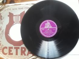 Cetra   -   1958.  Serie AC  Nr. 3322  -  Sanremo 1958 . Tonina Torrielli  E  Duo Fasano - 78 G - Dischi Per Fonografi