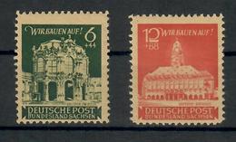 GERMANIA 1946 - EMISSIONI SOVIETICHE PER LA SASSONIA ORIENTALE - SERIE COMPLETA MNH** - Zona Soviética